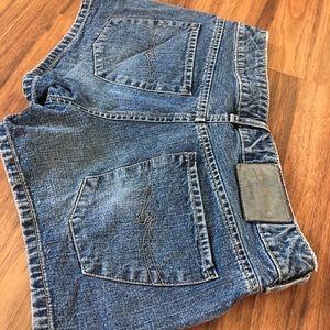 Silver shorts 29